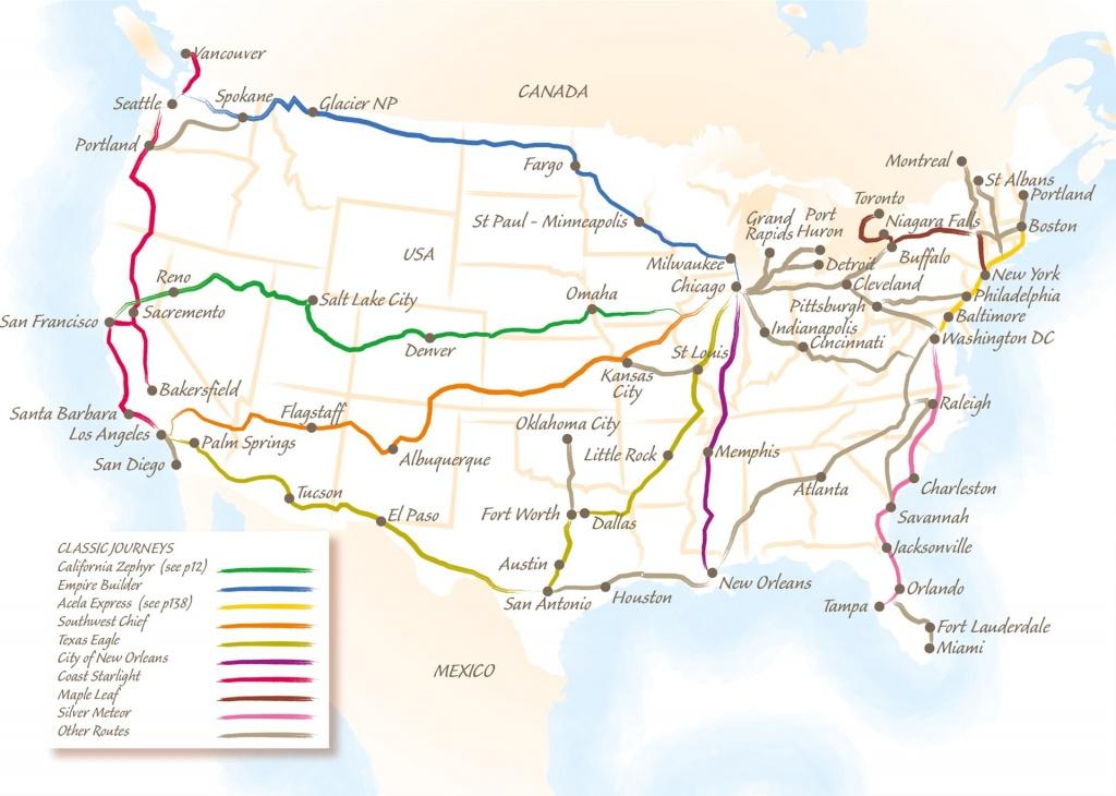 The California Zephyr - Trailfinders The Travel Experts - Amtrak California Zephyr Map