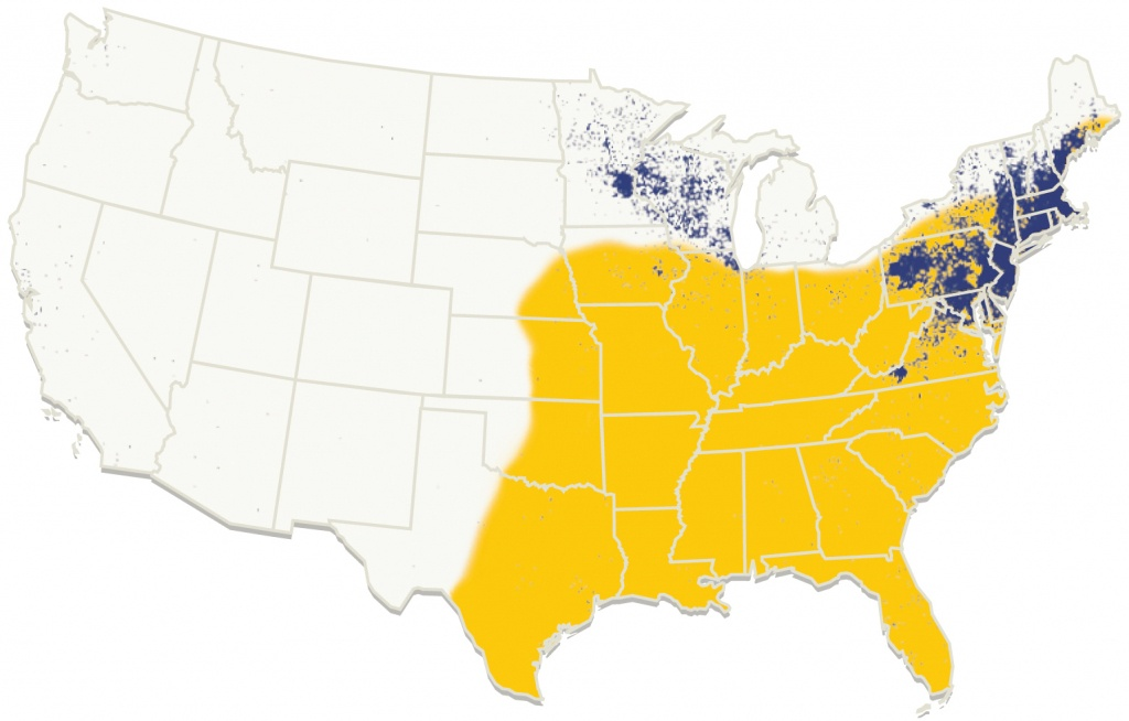 The Confounding Debate Over Lyme Disease In The South - Lyme Disease In Florida Map