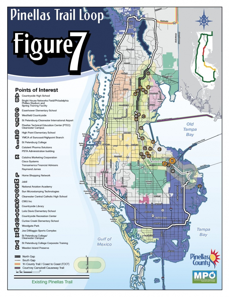 The Fred Marquis Pinellas Trail, Florida | Been There Done That - Pinellas Trail Map Florida