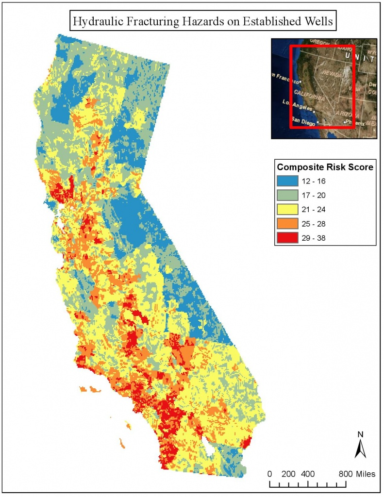 The Future Of Fracking In California | Fracking California - Fracking In California Map