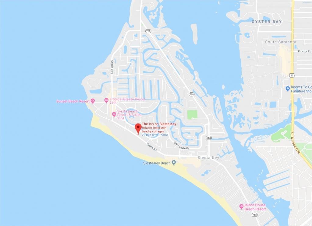 The Inn On Siesta Key · Voted #1 Beach Resort/hotel On Siesta Key - Map Of Hotels In Siesta Key Florida