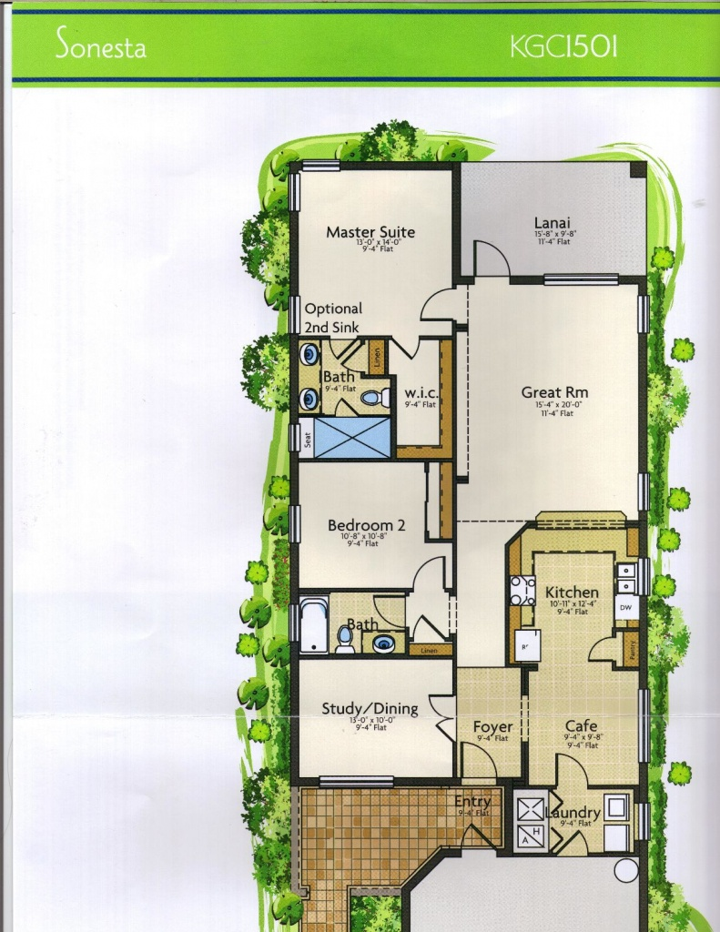 The Keys Grande Collection Sonesta Model In Solivita, Kissimmee Fl - Solivita Florida Map