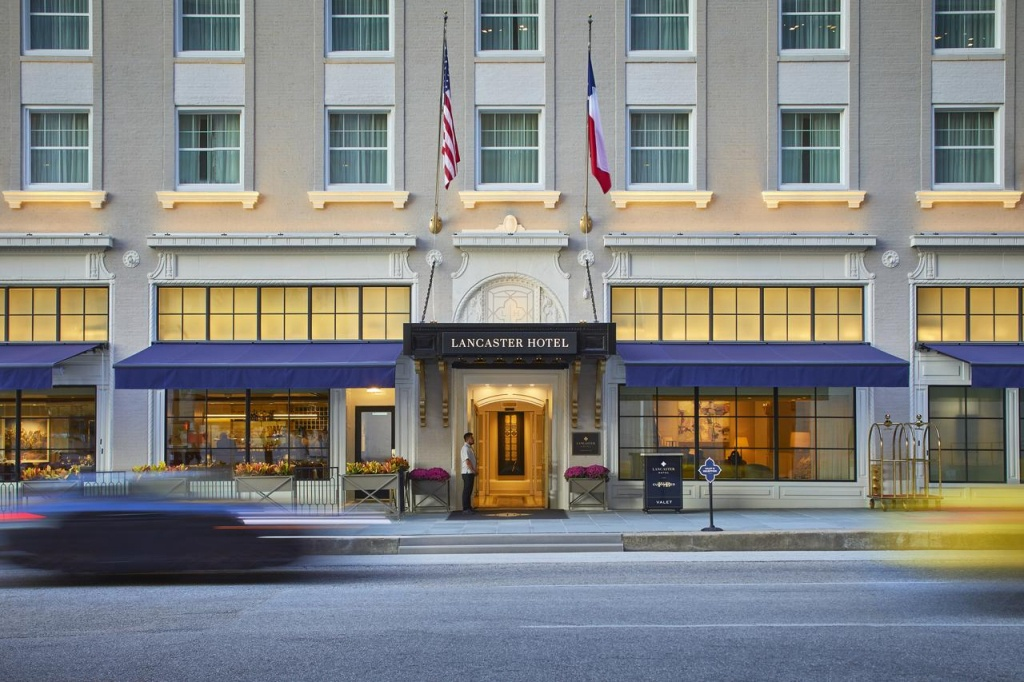 The Lancaster Hotel, Houston, Tx - Booking - Map Of Hotels In Houston Texas