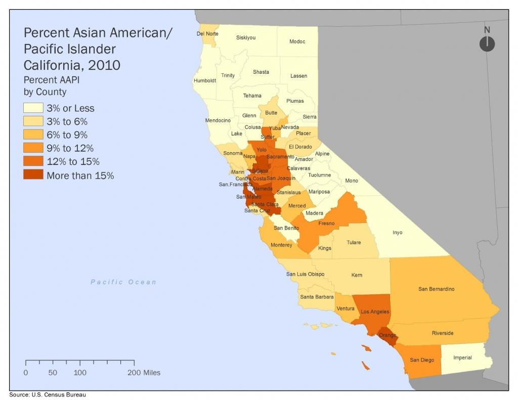 The Next California | Haas Institute - California Demographics Map