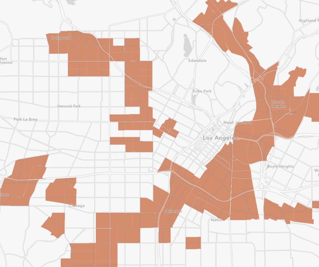 The Top 10 Opportunity Zones In The Us | Resources | Fundrise - Texas Opportunity Zone Map