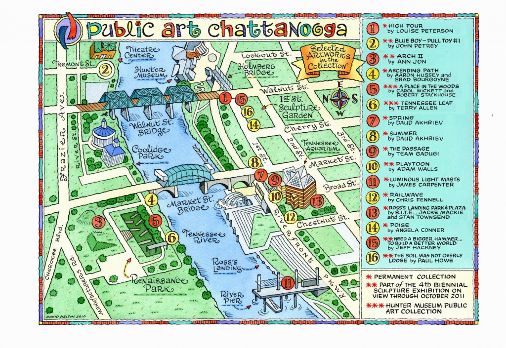 The Top 11 Shareable Innovations In Chattanooga, Tennessee - Printable Map Of Chattanooga