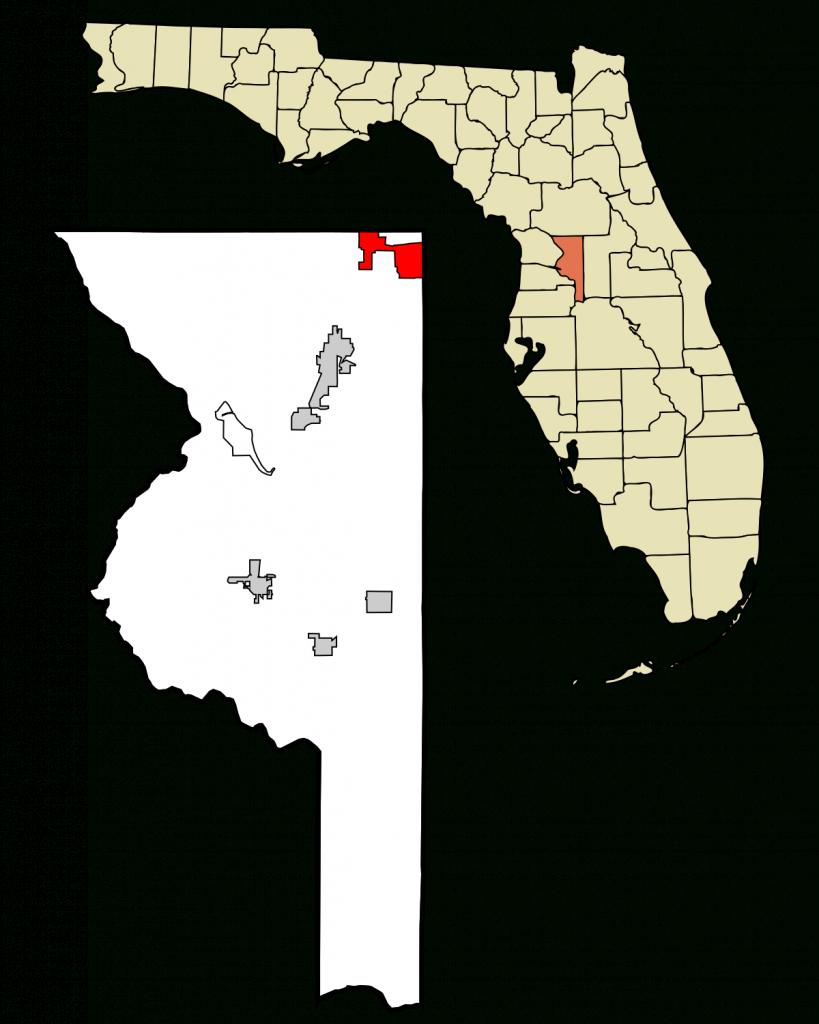The Villages, Florida - Wikipedia - Citrus Hills Florida Map