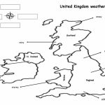The Weather Map Worksheet   Free Esl Printable Worksheets Made   Printable Weather Map