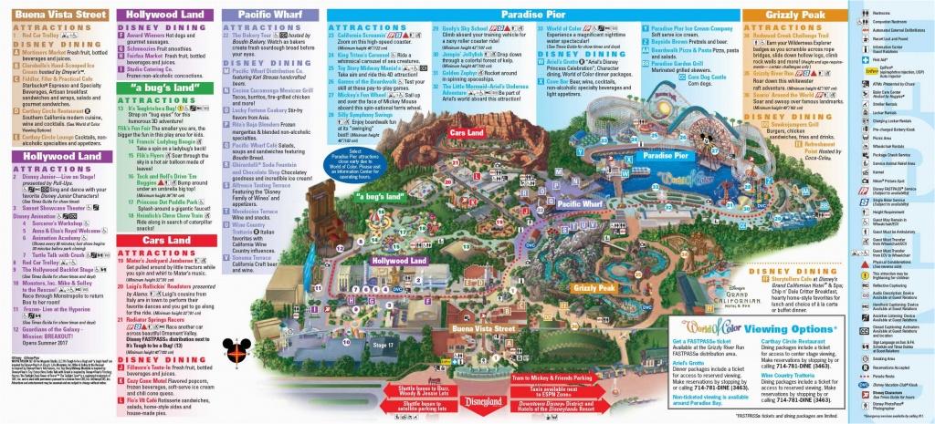 Theme Parks In California Map | Secretmuseum - Theme Parks California Map