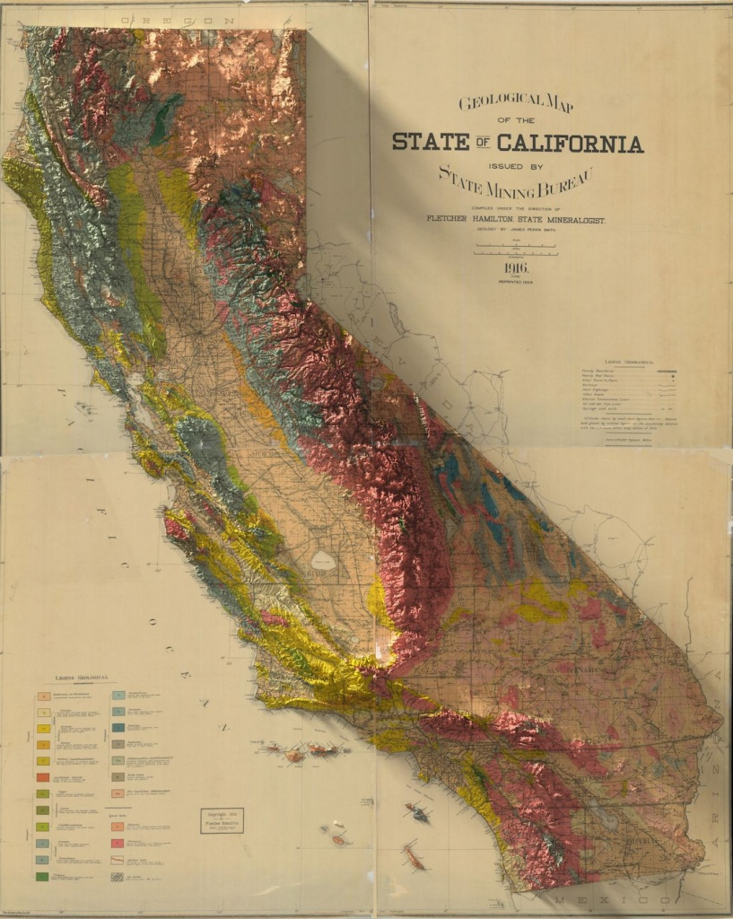 These 2D Turned 3D Maps Are Extraordinary Cartographic Art Pieces - 3D Map Of California