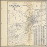 Thomas Bros. Map Of Riverside, California.   David Rumsey Historical   Printable Map Of Riverside Ca