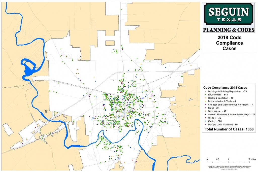 Tim Ramirez, Code Compliance Officerchuck Just, Code Compliance - Seguin Texas Map