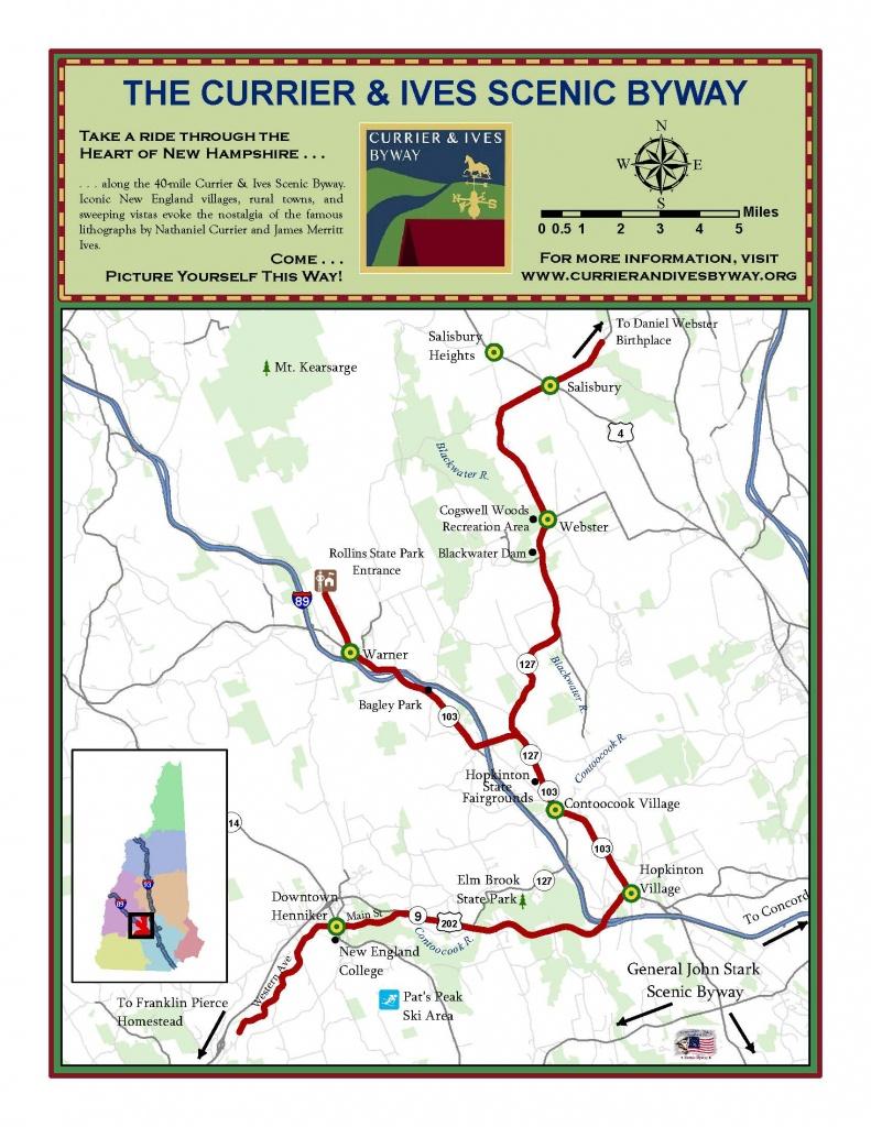 Tioga Road/big Oak Flat Road - Map | America's Byways | Yosemite - Scenic Byways California Map