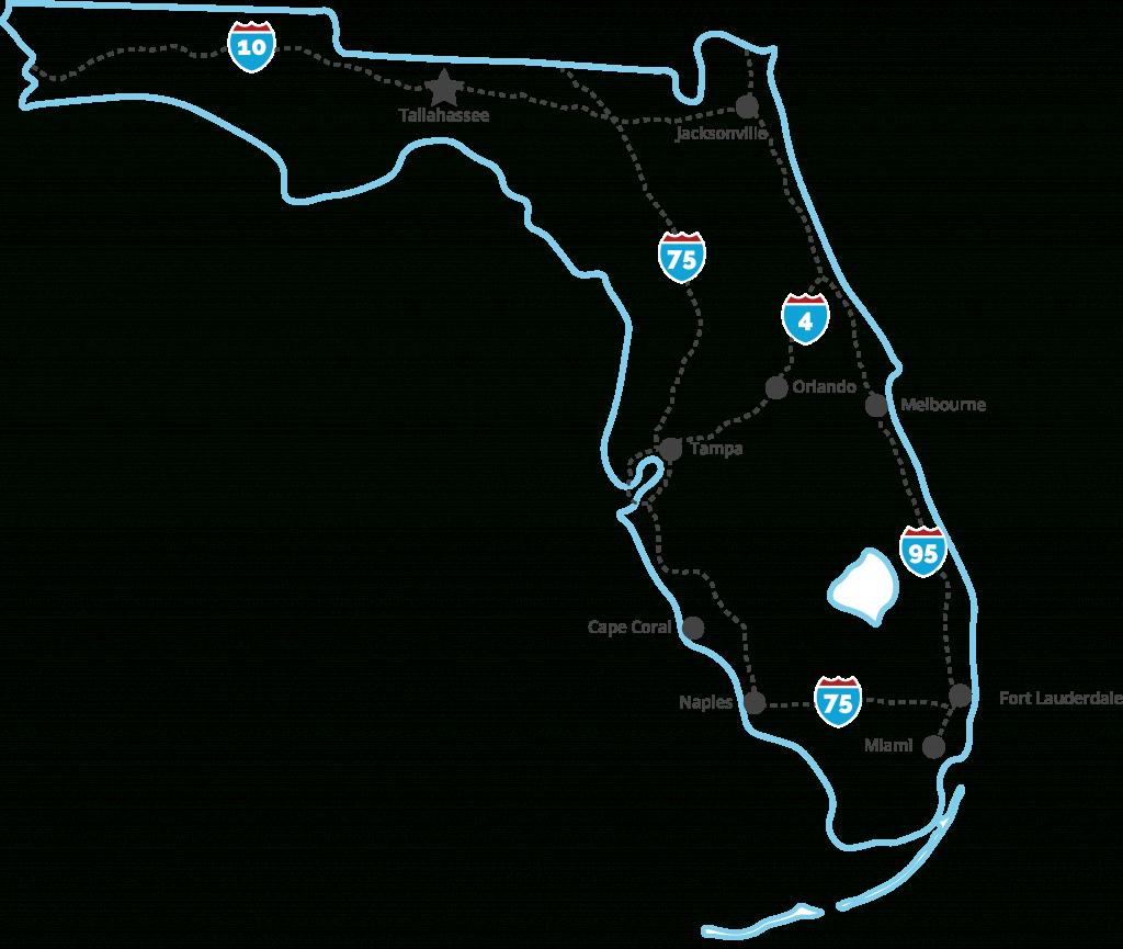 Tobacco Free Florida - Free Florida Map