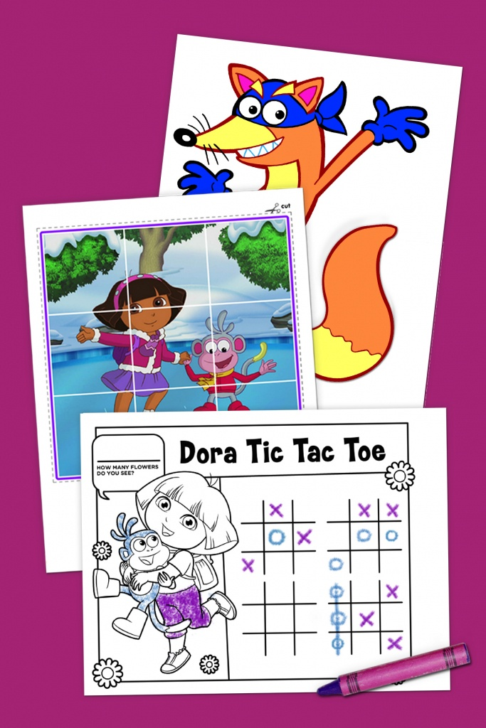 Top 10 Dora The Explorer Printables Of All Time | Nickelodeon Parents - Dora Map Printable
