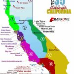 Top 35 Places To Shoot In California – Improve Photography   Best California Map