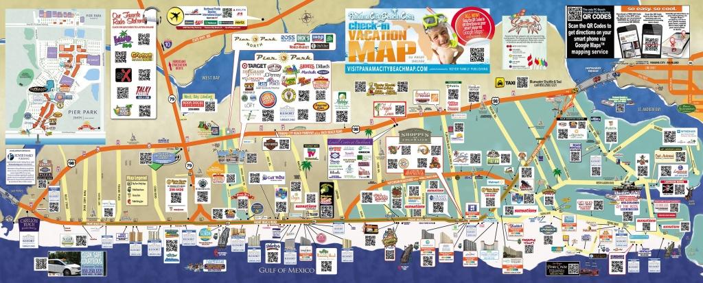Tourist Map Of Panama City Beach | To The Beach! | Panama City Beach - Map Of Panama City Beach Florida
