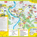 Tourist Map Of Rome City Centre   Rome Tourist Map Printable