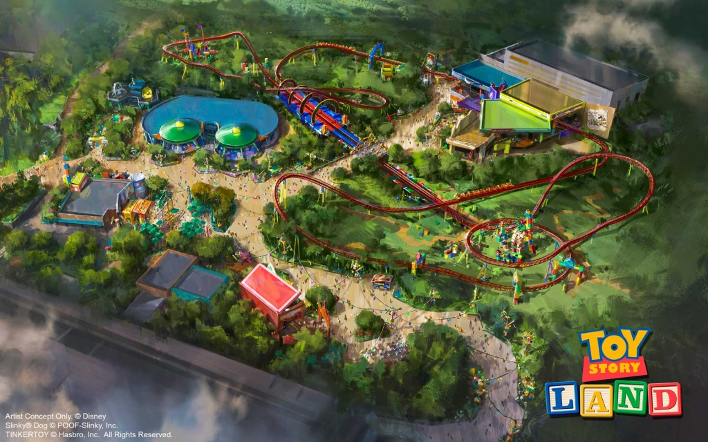 Toy Story Land Opening: What To Expect When Disney World Brings 'toy - Toy Story Land Florida Map