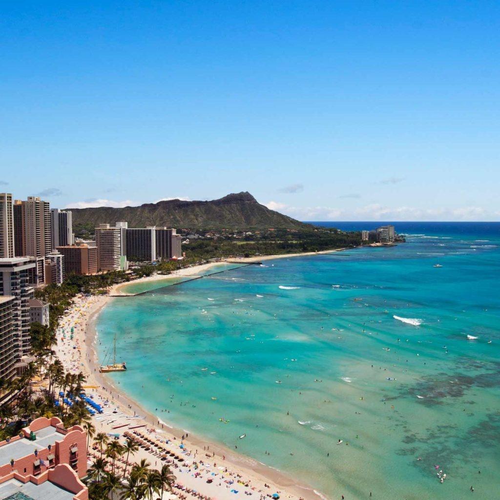 Travel Inspiration - Destination Guide To Hawaii | Marriott Hawaii - Spg Hotels California Map