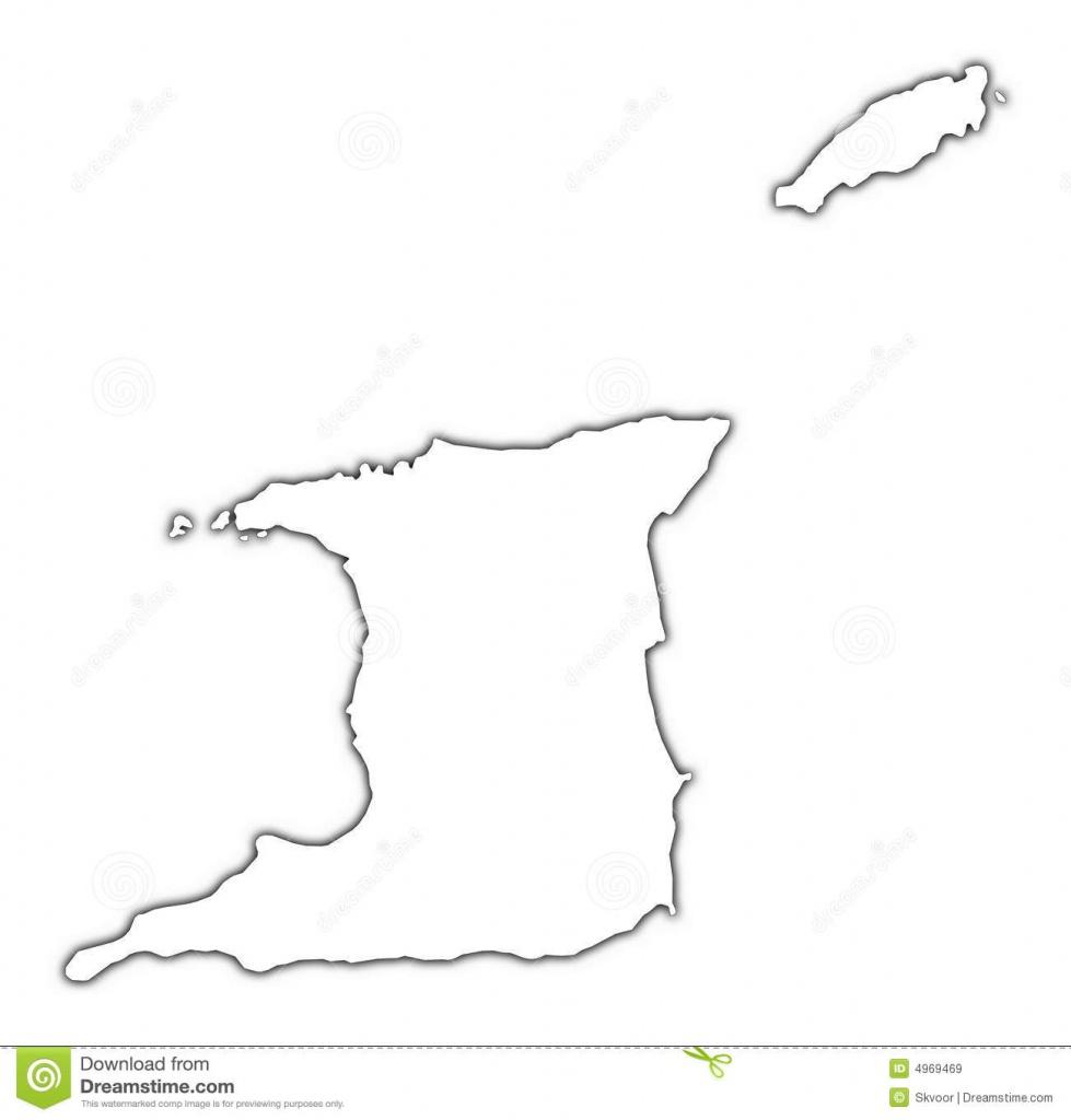 Trinidad And Tobago Map Stock Illustration. Illustration Of Raster - Printable Map Of Trinidad And Tobago