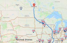 Triptik® Travel Planner   Caa Manitoba   Printable Map Route Planner