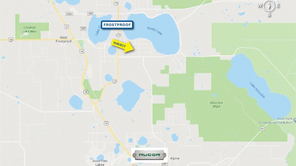 Ts Wilson Road, Frostproof, Fl 33843 - Industrial Property For Sale - Frostproof Florida Map