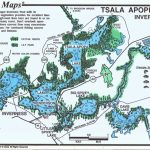 Tsala Apopka Lakes (Inverness & Hernando Pools)   Mark Evans Maps   Florida Fishing Lakes Map
