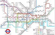 Tube Map, London Underground | L D N In 2019 | London Tube Map   Printable Underground Map