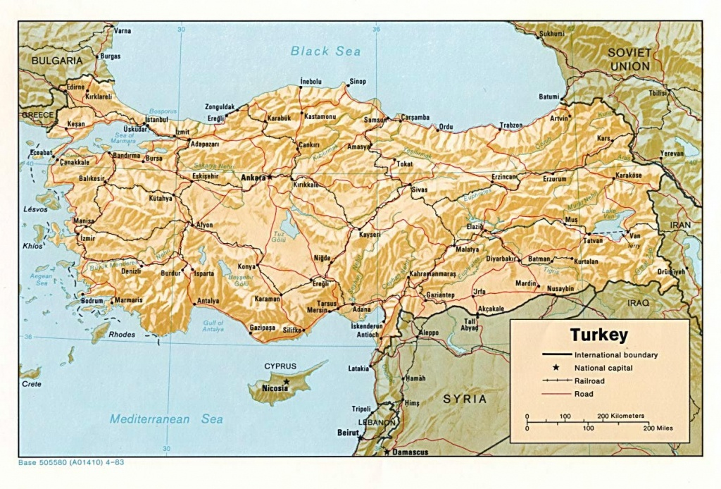 Turkey Maps | Printable Maps Of Turkey For Download - Printable Map Of Turkey