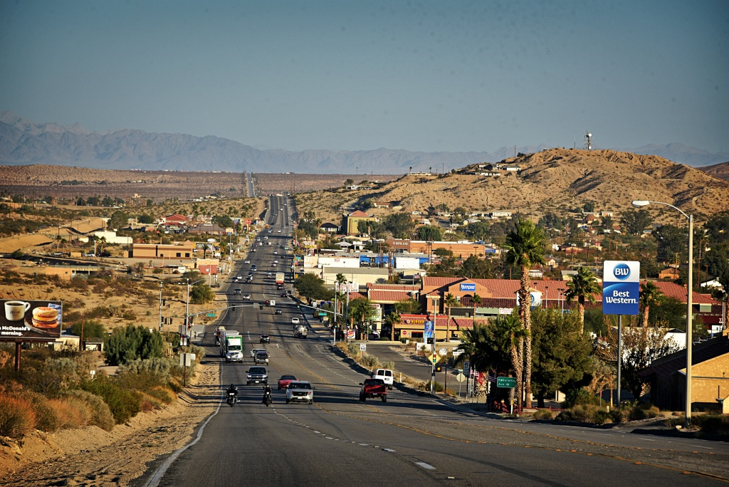 Twentynine Palms, California - Wikipedia - 29 Palms California Map