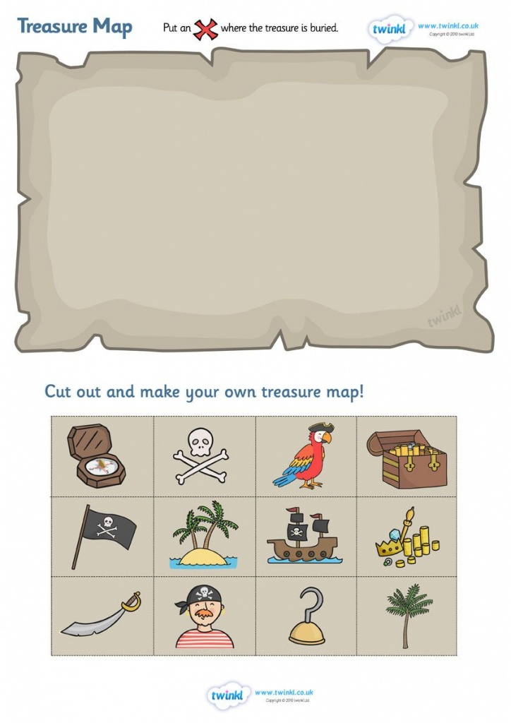 Twinkl Resources >> Treasure Map Design Activity >> Thousands Of - Make Your Own Treasure Map Printable