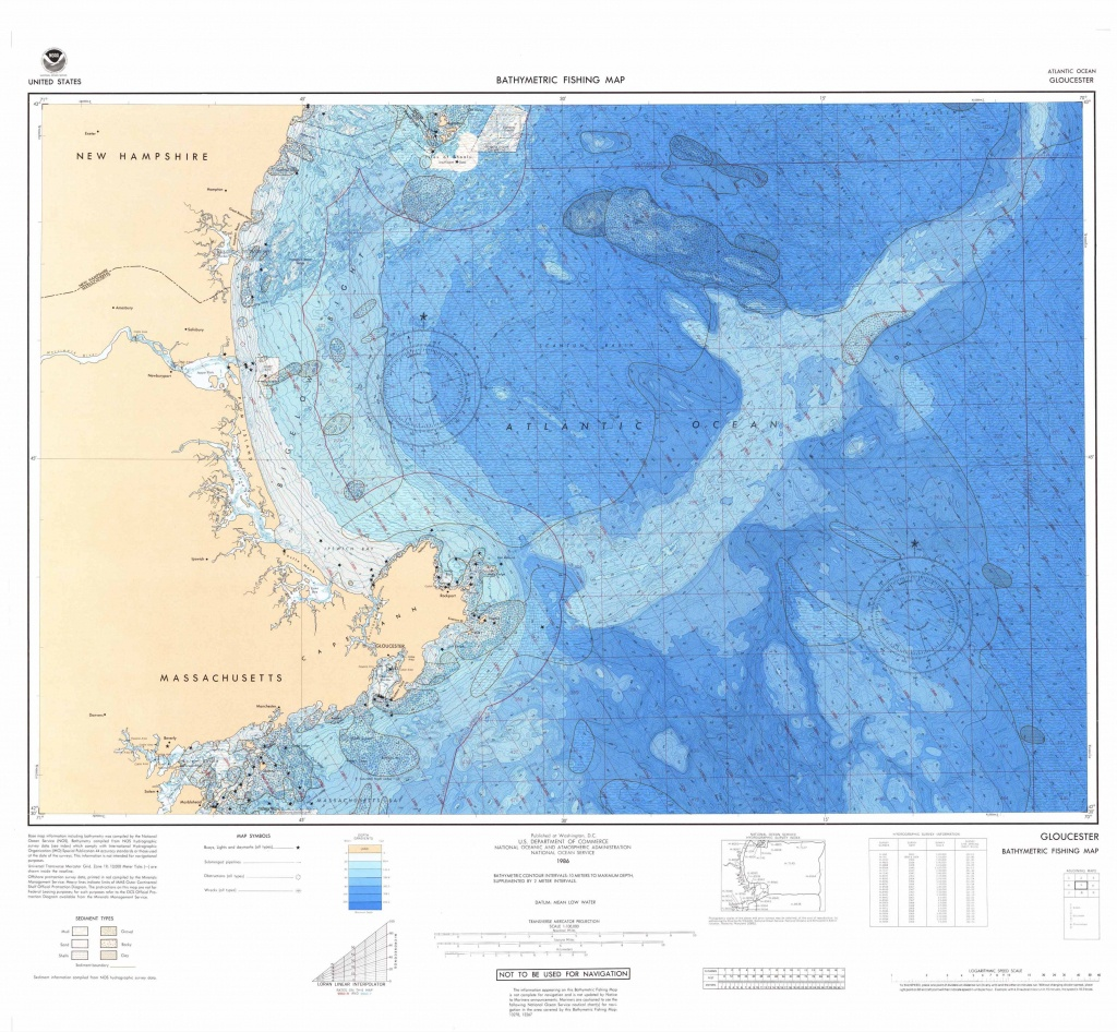 U.s. Bathymetric And Fishing Maps | Ncei - Florida Marine Maps