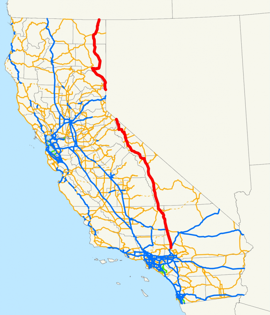 U.s. Route 395 In California – Wikipedia Throughout Indian Wells - Indian Wells California Map