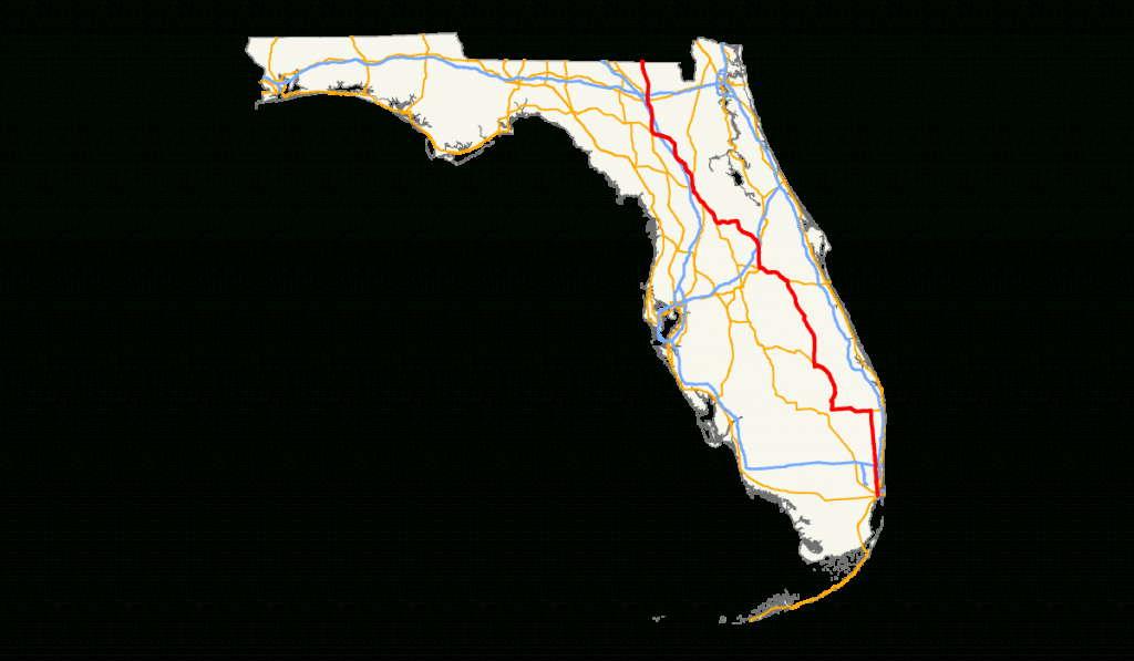 U.s. Route 441 In Florida - Wikipedia - Silver Springs Florida Map