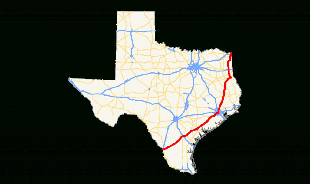 U.s. Route 59 In Texas - Wikipedia - Carthage Texas Map