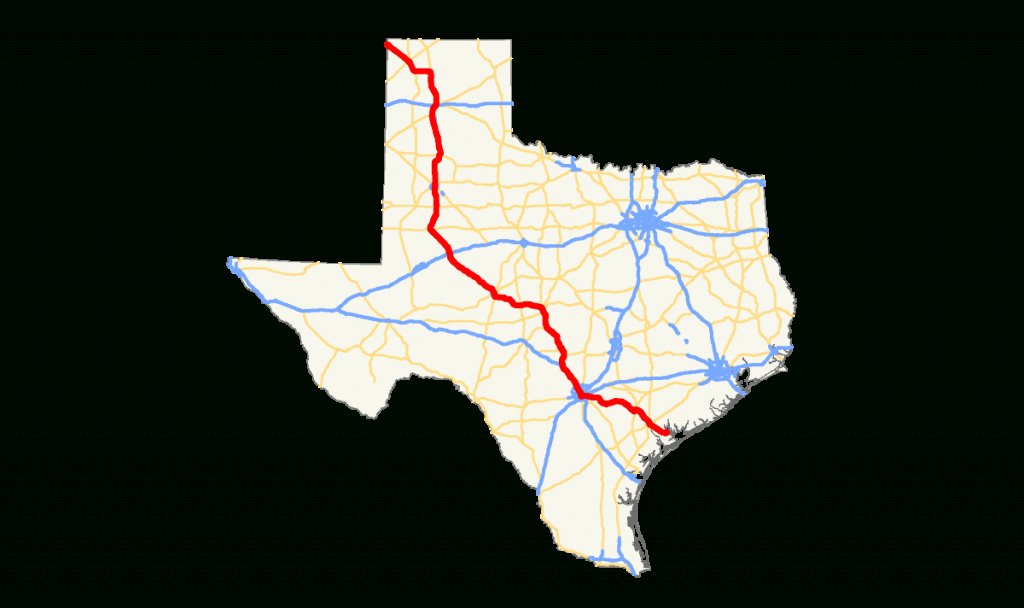 U.s. Route 87 In Texas - Wikipedia - Dumas Texas Map