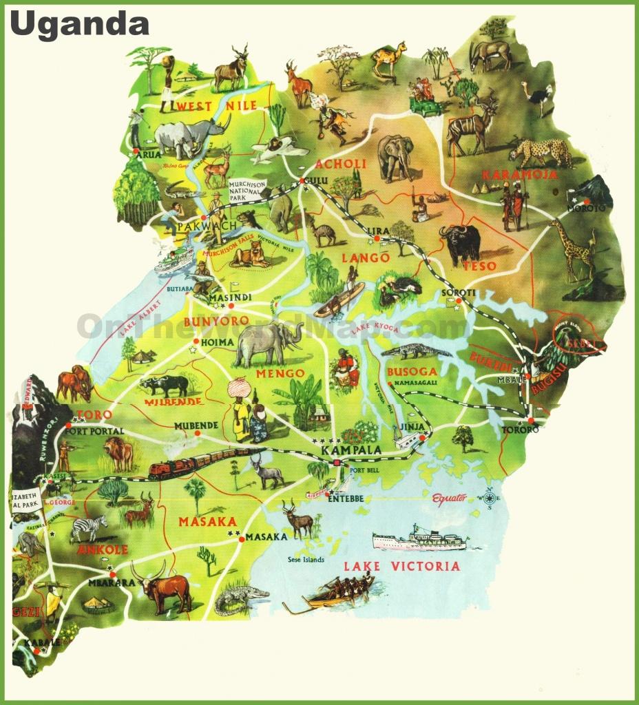 Uganda Maps   Maps Of Uganda - Printable Map Of Uganda