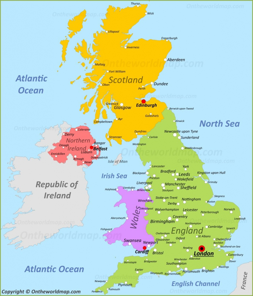 Uk Maps | Maps Of United Kingdom - Printable Map Of Britain