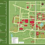 Ull Campus Map | States Maps   Printable Map Of Lafayette La