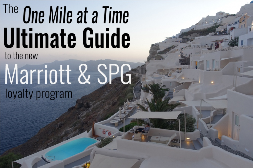 Ultimate Guide To The New Marriott & Spg Program | One Mile At A Time - Spg Hotels California Map