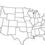 United States Map Blank Outline Fresh Free Printable Us With Cities   Free Printable Blank Map Of The United States