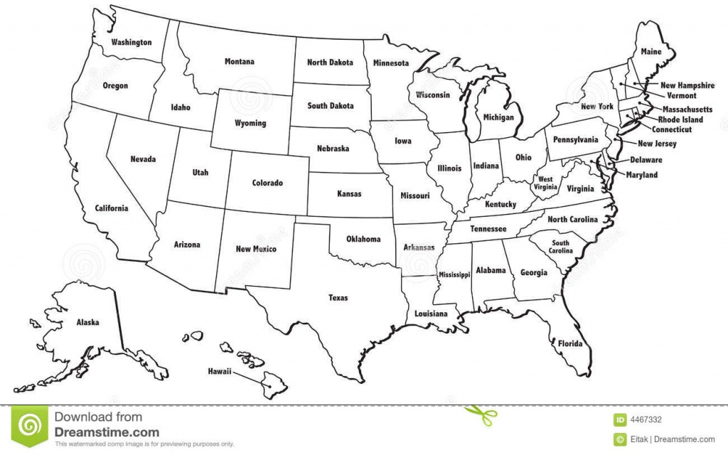 United States Map Jpg And Travel Information | Download Free ...