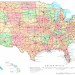 United States Printable Map   Printable Map Of Usa With Major Cities