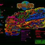 Universal Orlando Park Map 2013 | Orlando Theme Park News: Wdw   Universal Studios Florida Citywalk Map