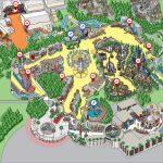 Universal Studios Hollywood Map Luke California River Of Gallery   Universal Studios Map California 2018