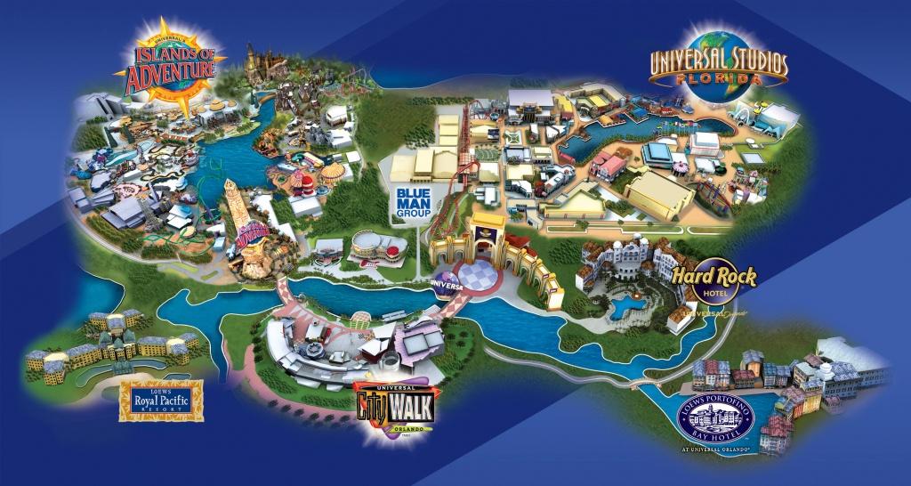 Universal Studios Orlando Hotels Map | 2018 World's Best Hotels - Map Of Universal Florida Hotels
