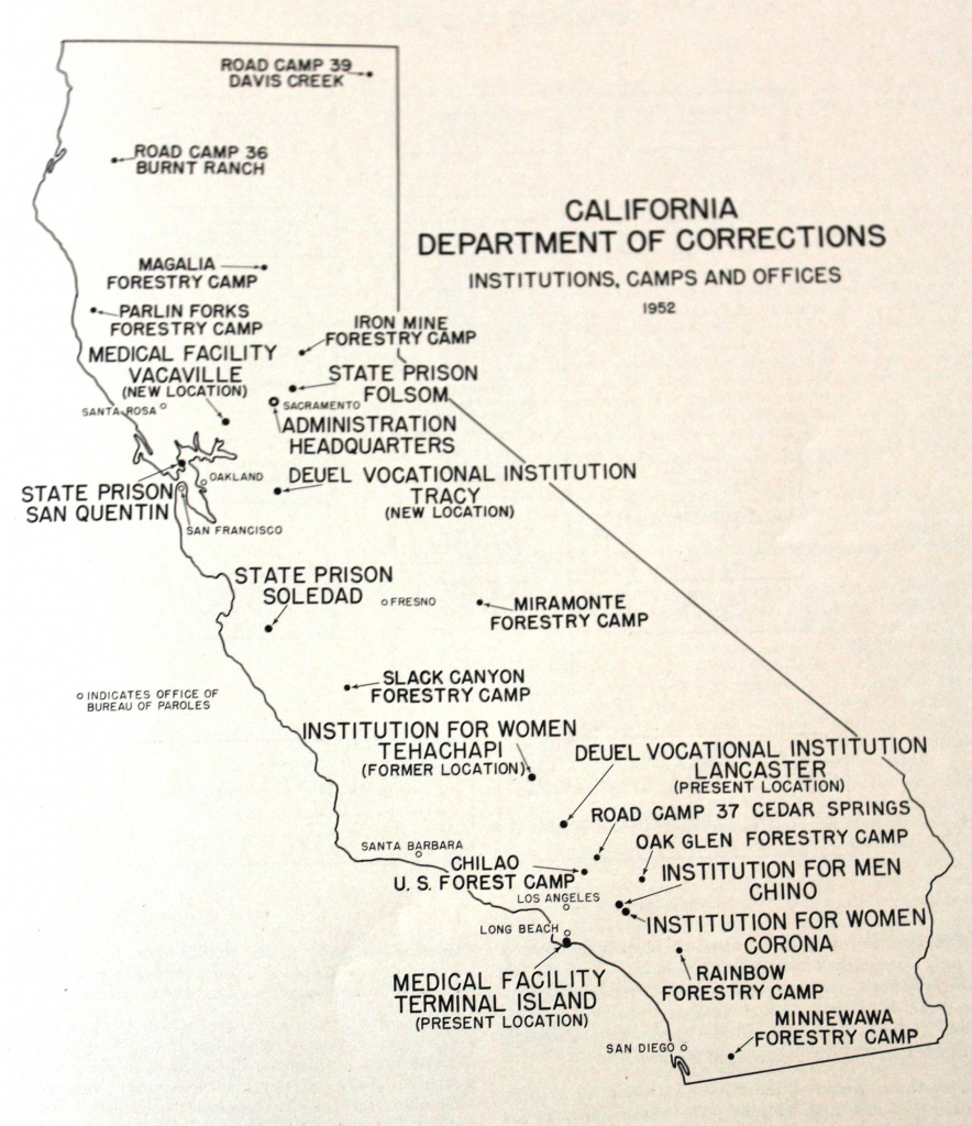Unlocking History: California Men's Colony Was Once Wwii Military - California State Prisons Map