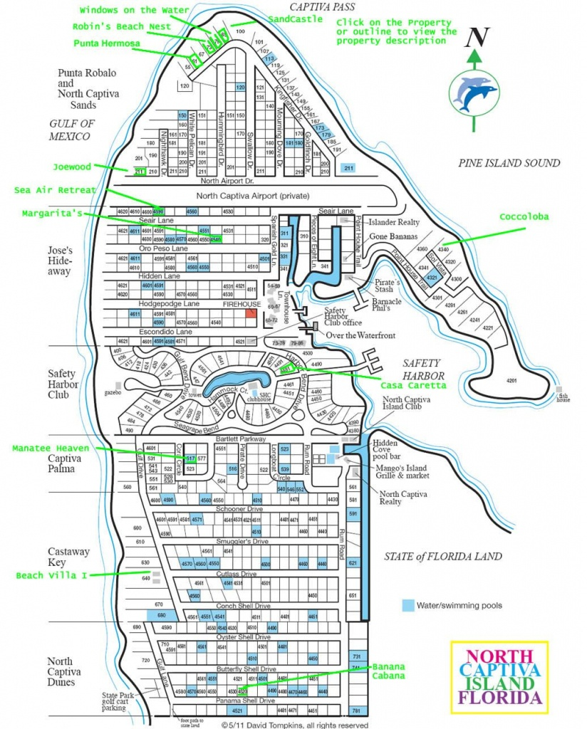 Upper Captiva Island Map. Best Map . | Sanibel And Captiva Islands - Captiva Florida Map
