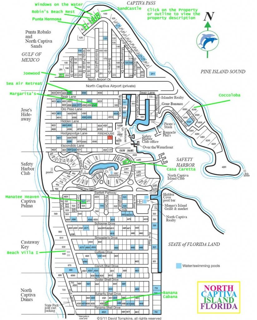 Upper Captiva Island Map. Best Map . | Sanibel And Captiva Islands - Captiva Island Florida Map